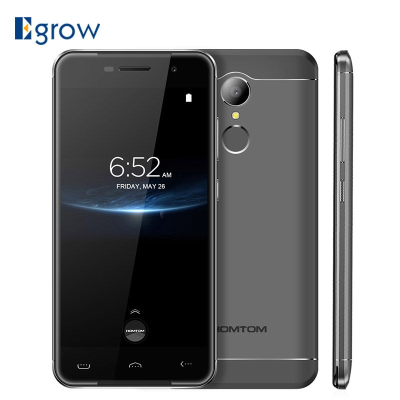 HOMTOM HT37 PRO Mobile Phone 3G RAM 32G ROM Android 7.0 MTK6737 Quad Core 4G LTE Smartphone Fingerprint 1280*720 13MP Cell phone