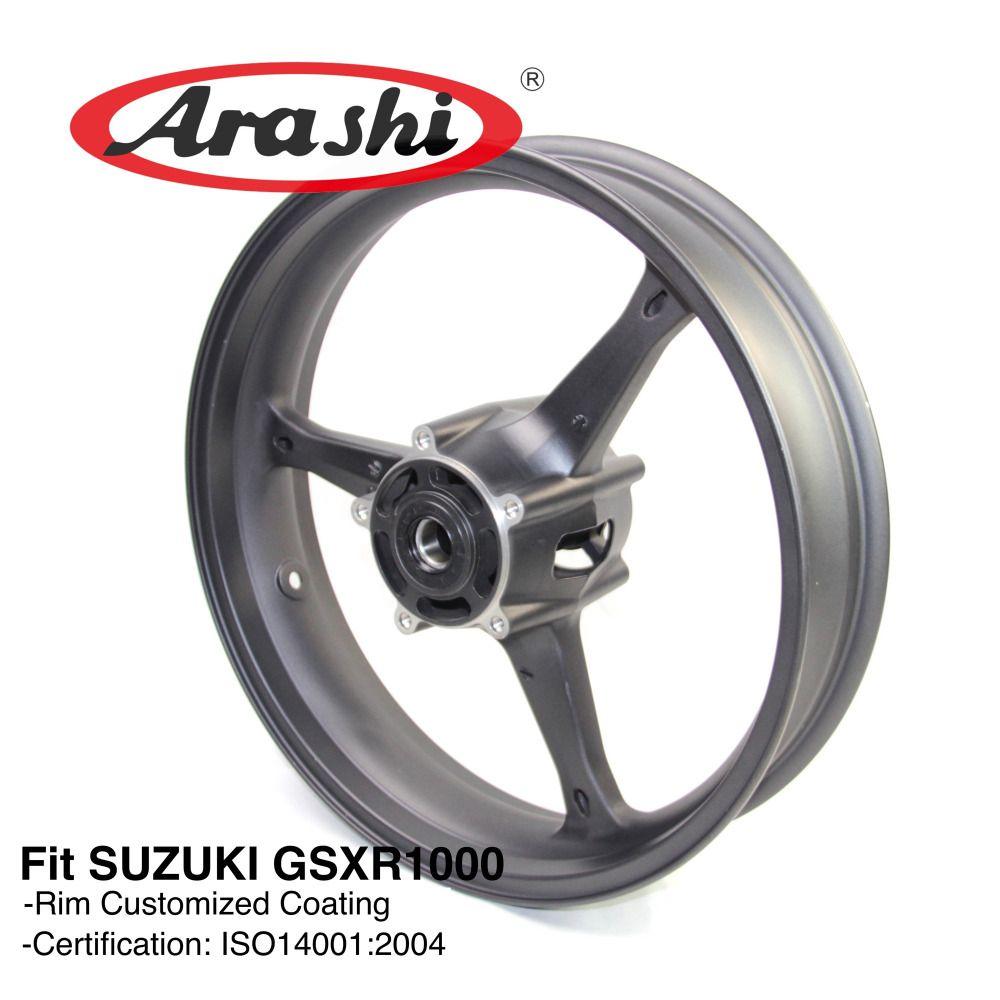 Arashi GSXR1000 2005-2008 Vorderen Felge Für SUZUKI GSX-R GSXR 1000 GSX1000R 2005 2006 2007 2008 K5 K6 k7 K8 GSXR 600 750