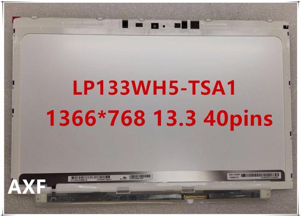 Original LP133WH5-TSA1 für HP Spectre XT Pro13 b000 13T-2100 LAPTOP-BILDSCHIRM LP133WH5 TSA1 1366*768 13,3