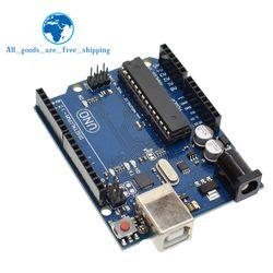 1 set uno r3 MEGA328P ATMEGA16U2 (avec logo) pour Arduino Compatible sans Câble USB