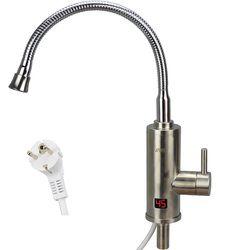 Más nuevo de acero inoxidable 220 V 3000 W calentador de agua cocina grifo calefacción eléctrica grifo de agua caliente instantánea grifo calentadores