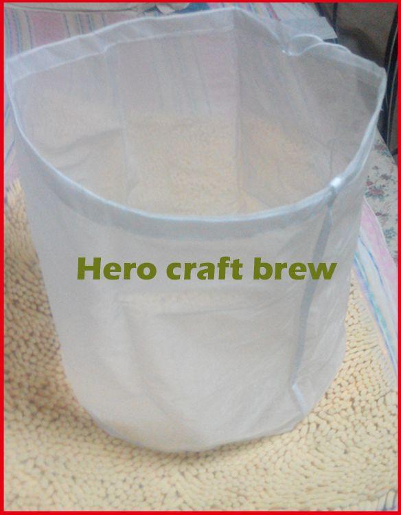 50*45 qualité alimentaire home brew mash filtre sac pour lot homebrew filtre sac seau peut être personnalisé livraison shiping
