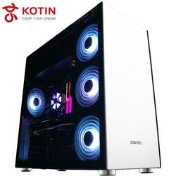 KOTIN S15 equipo de gama alta I7 7820X GTX1080Ti ASUS X299 Motherboard 650 W WideRange PSU RGB ventilador 16 RAM genuino win10 PUBG