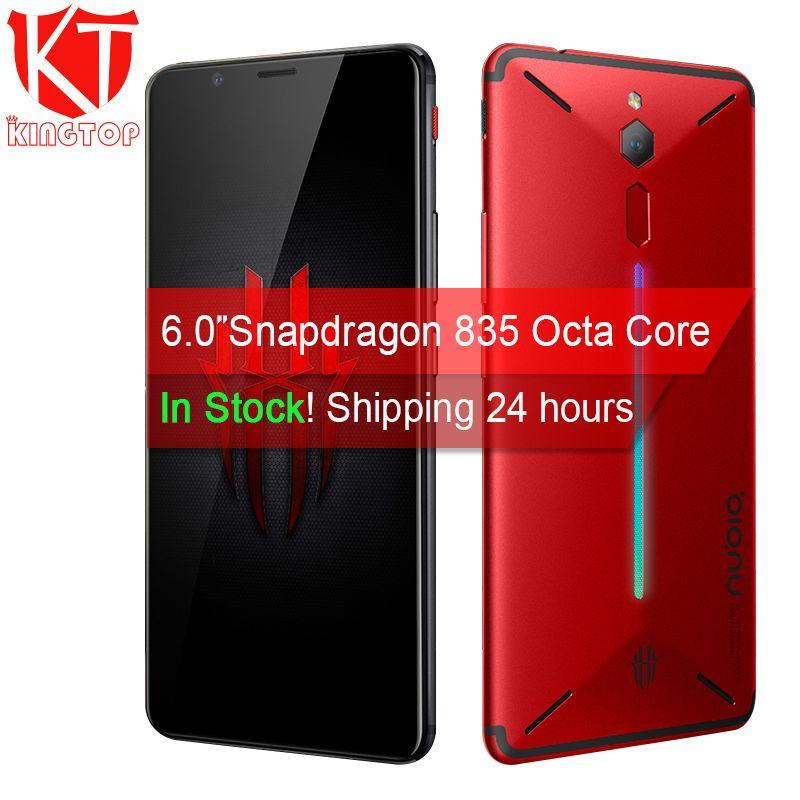 Original ZTE Nubia Red Magic Game Mobile Phone 6