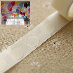 100 piezas globos accesorios globos pegamento boda cumpleaños decoración globos pegatinas partido accesorios extraíble suministros