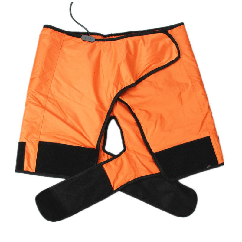 Electric Heating Sauna Spa Pants Shorts Fitness Slimming Legs Hips Up Thermal Detox Brace Pant Weight Loss Fat Burning One Size