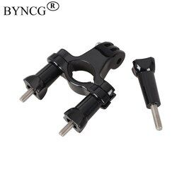 BYNCG Bicycle Mount Bike Handlebar Seatpost Tripod Holder Clamp For Gopro Hero 6534 SJCAM SJ4000 Xiaomi Yi 4K Camera Accessories