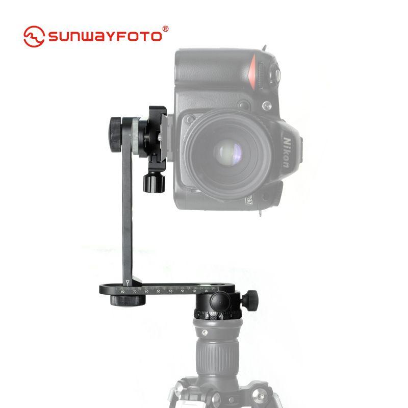SUNWAYFOTO CR-30C Tripod 360 Panoramas For Dslr Professional Aluminum Mini compact panoramic head