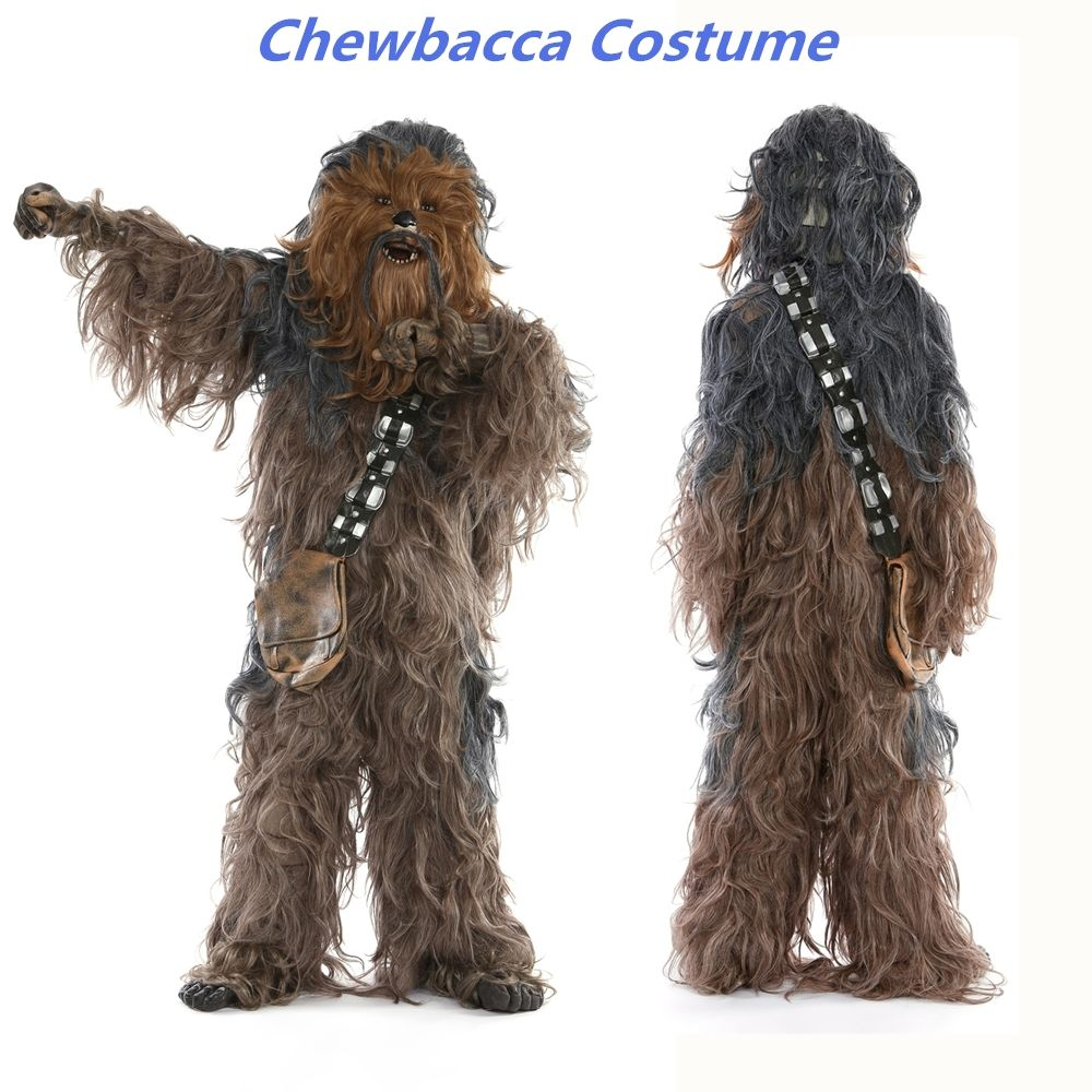 Rubie's Star Wars Super Edition Adult Chewbacca Cosplay Party Costume
