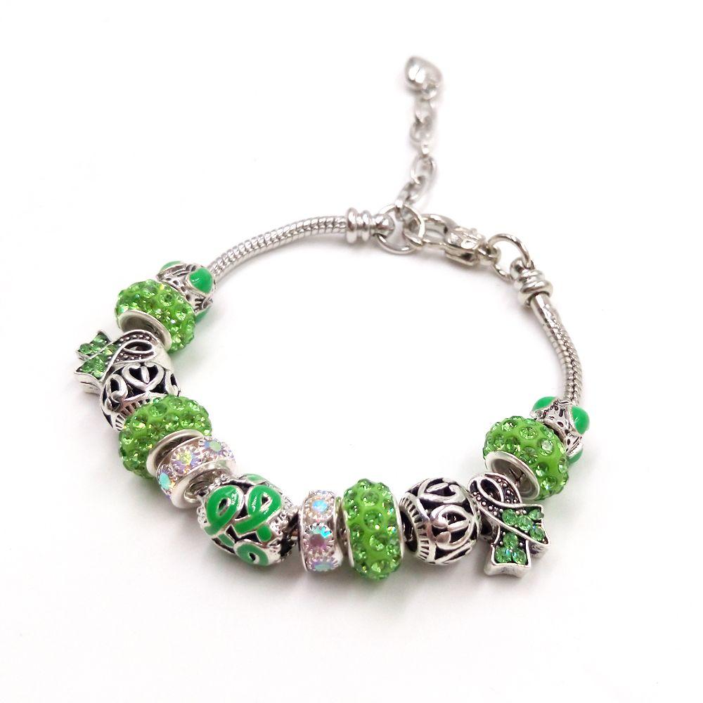 Sue Phil New Charm Bracelet & Bangle Women Adjustable Green Blue Chain Bracelet Drop Shipping