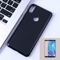 ZB602KL Perlindungan Penuh Cover Case untuk Asus Zenfone Max Pro M1 ZB602KL X00TD Case dengan Penuh Tempered Glass M2 ZB633KL ZB631KL