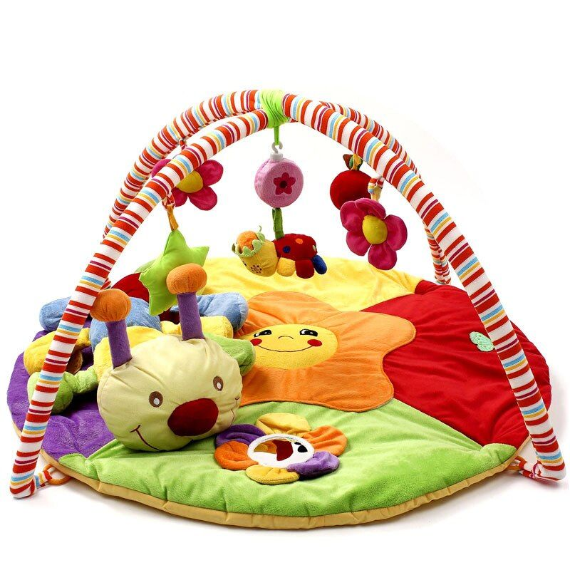 KUDIAN BEAR Soft Baby Play Mat Musical Toys for Baby Play Rug Children Carpet Newborn Crawling Gym Mat -- DBYC159 PT49