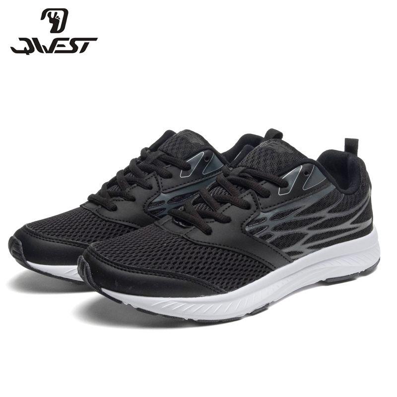 QWEST Marke Leder Einlegesohlen Atmungs Bogen Kinder Sport Schuhe Haken & Loop Größe 36-41 Kinder Sneaker für Jungen 91K-JSZ-1303