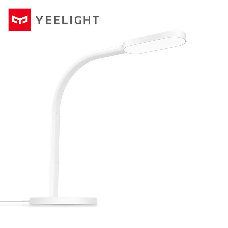 D'origine Xiaomi Yeelight Mijia LED Lampe de Bureau Pliage Intelligent Tactile Régler la Lecture Table Lampe Luminosité Lumières YLTD01YL/YLTD02YL