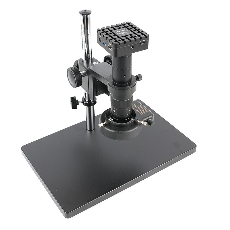 1080 p 12MP 4 karat UHD HDMI UI Messung Digital Industrie Video Mikroskop Kamera Set 180X 300X C MOUNT Objektiv für Labor Löten