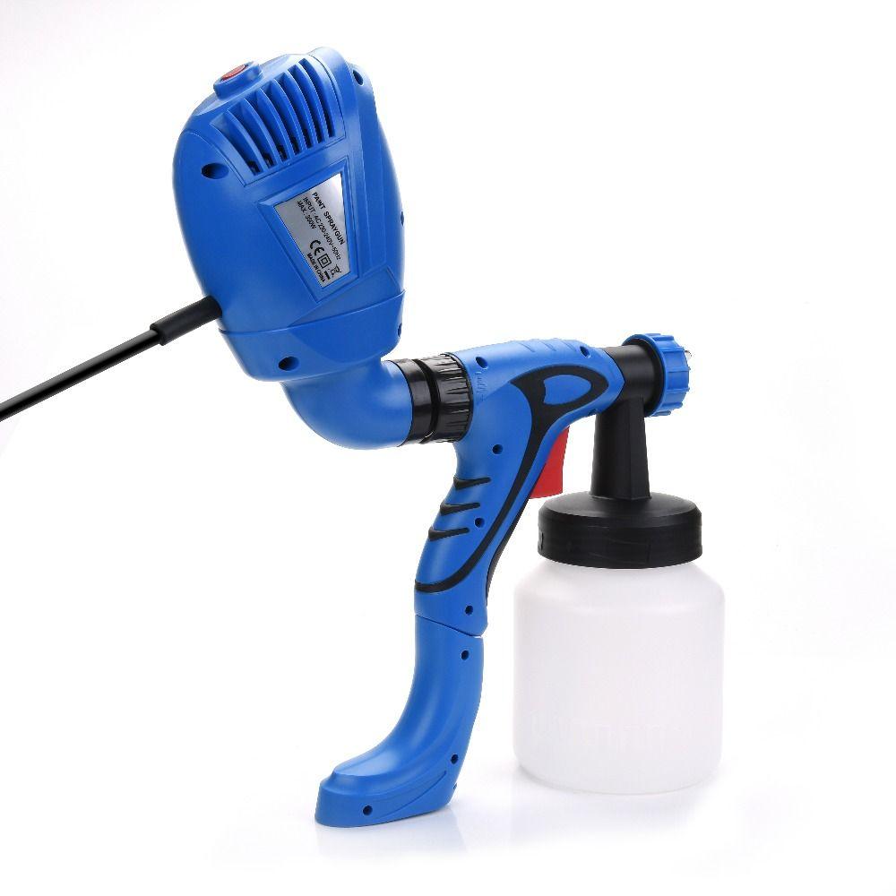 Malen Sprayer Elektrische Spritzpistole mit Farbe Gun Für haus Spritzen Farbe auto möbel wand HVLP LVLP 220 V