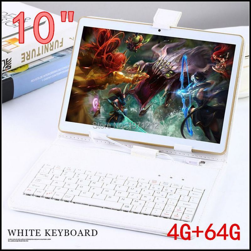 10 pouce 3G 4G LTE tablet pc Octa core 1280*800 5.0MP 4 GB 64 GB Android 5.1 Bluetooth GPS tablet 10 avec clavier