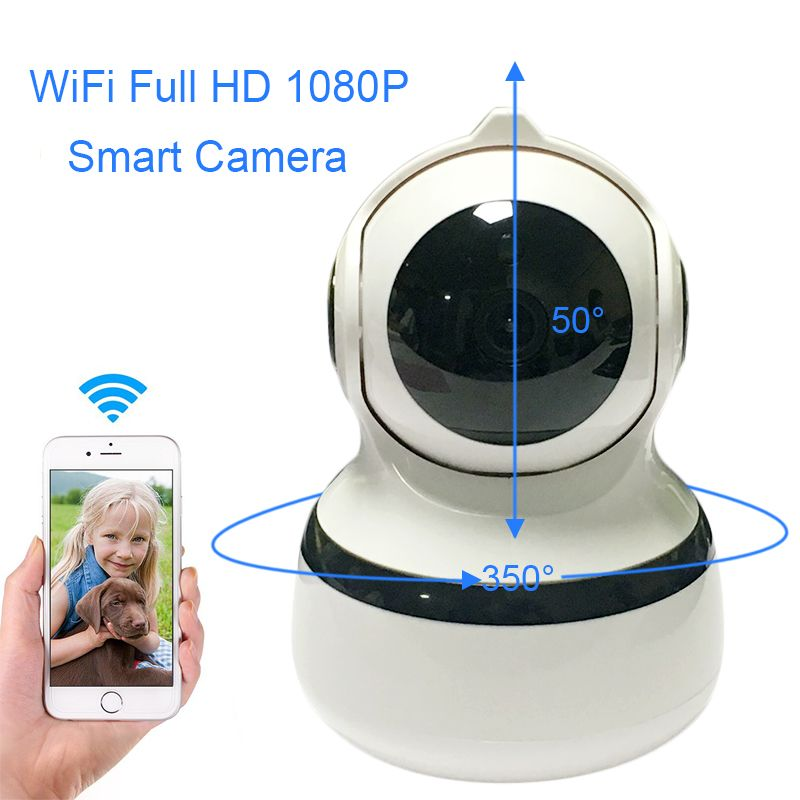 IP Network Wireless 1080P 2MP Home Security Camera 2.4G Smart WIFi Indoor Security Surveillance Two Way Audio Box Cameras