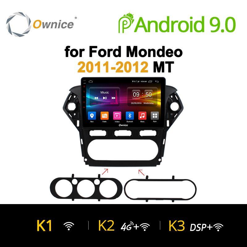 Ownice 10,1 K1 K2 Octa Core Android 9.0 Auto 2 Din Radio DVD GPS Navi Für Ford Mondeo 2011 2012 auto Kopf einheit Audio multimedia