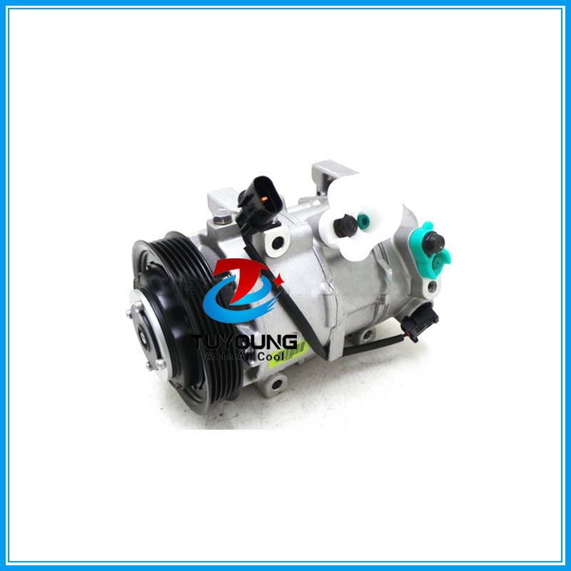 PN#977011R900 P30013-4111 DVE12 auto air conditioning compressor for Hyundai Accent 1.5L 2014 5PK 117MM