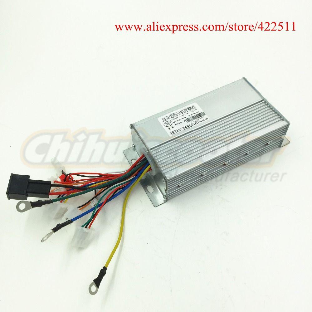 Elektroroller Controller 1800 Watt 48 V Bürstenlosen Gleichstrommotor-controller 48 V 37A Bldc-motor Controller mit Doppel-geschwindigkeit Verbindung