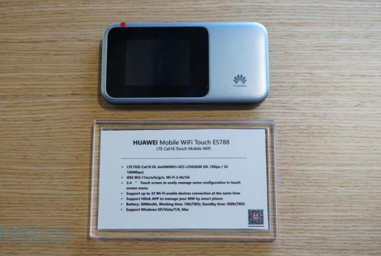Entriegelte Huawei E5788 4G 4G + 5G wireless router CA-LTE: B1/B3/B4/B5/B7/B8/B19/B20/B28/B38/B40/B41/B42 Cat16 1 Gbmps MiFi Modem