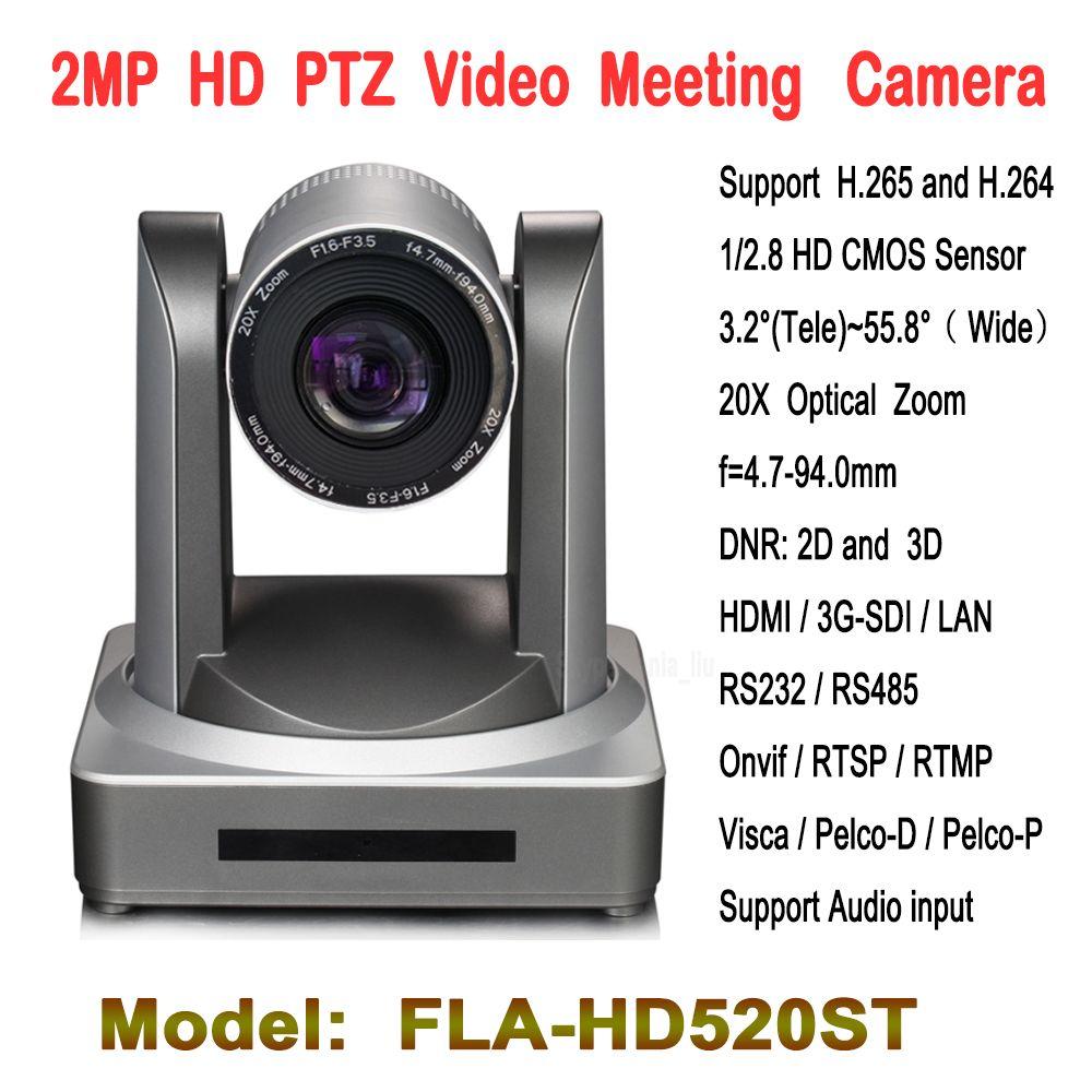 2.0 мегапикселя 20X зум ptz-видеоконференция Камера с HD-SDI IP HDMI WI-FI модуль для теле-образование, Лекция захвата встречи