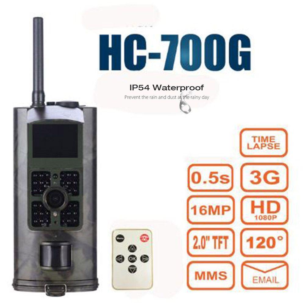 Outlife HC700G 16MP Trap Camera Infrared Night Vision Hunting Camera 3G SMS MMS GSM 1080P SMTP GPRS Digital Hunting Trail Camera