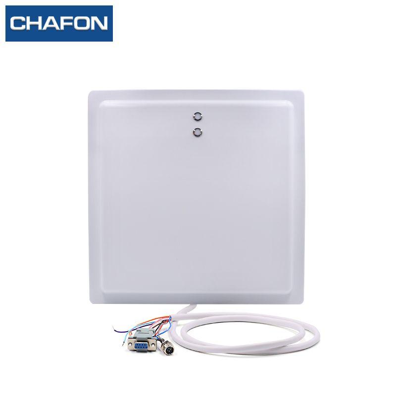 15 mt UHF RFID reader 12 dBi antenne IP65 mit RS232/RS485/Wiegand26 interface und led-anzeige für parkplatz anwendung