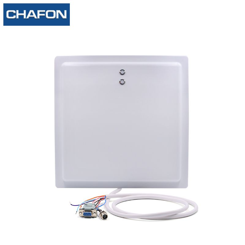 15M UHF RFID reader 12 dBi antenna IP65 with RS232/RS485/Wiegand26 interface and LED indicator for parking application