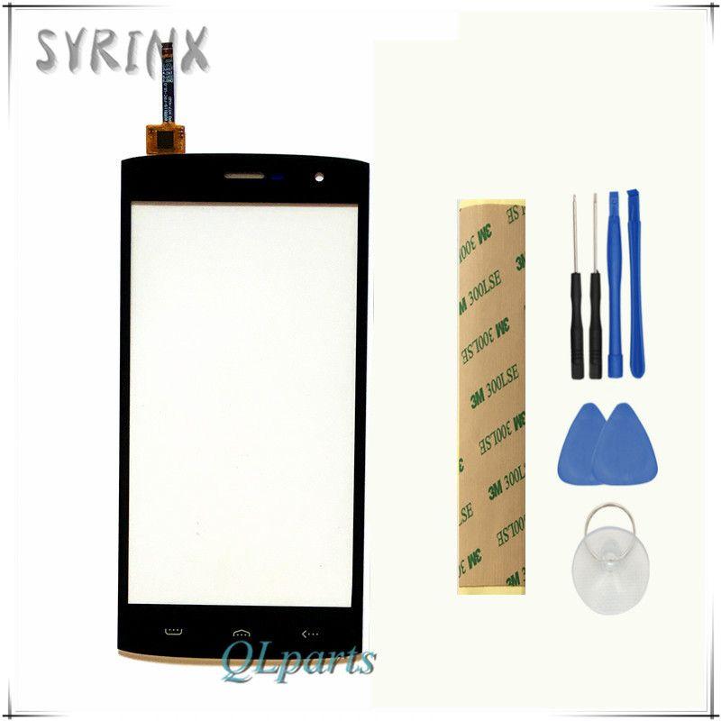 Syrinx + Outils Bande Mobile Téléphone Écran Tactile Pour HOMTOM HT7 HT7 Pro Écran Tactile Digitizer Écran Tactile Panneau Avant Du Capteur verre