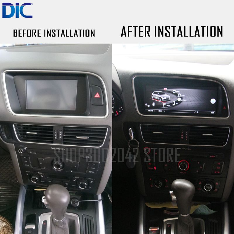 DLC Android system GPS navigation player Right Hand Left Hand 8.8 10.25 inch WIFI video original system For Audi Q5 2010-2016