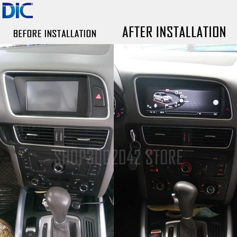 DLC Android system GPS navigation player for Audi Q5 2010-2016 car styling 8.8 10.25 inch multimedia WIFI video original system