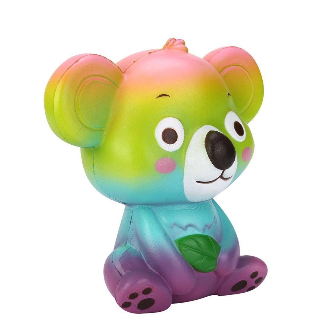 Mignon Koala Visqueux Téléphone Bretelles Lente Hausse Jouet Crème Parfumée Squeeze Téléphone Décor Enfants Jouets Cadeau Anti-Stress Fun Squishies