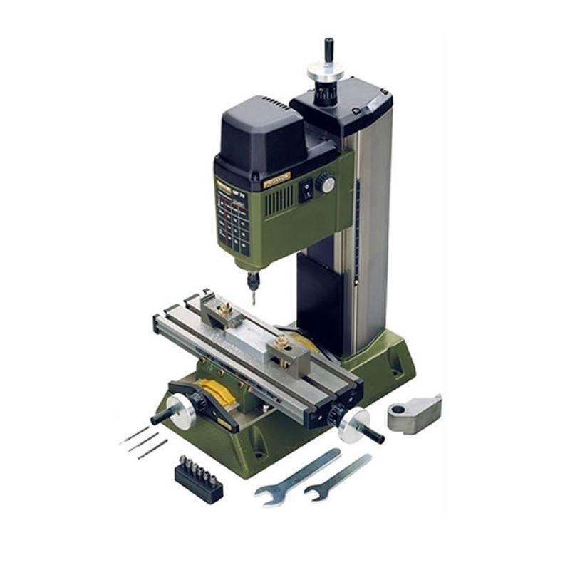 220V 100W PROXXON Mini Milling Machine MF70 Bench Driller Mini Woodworking Lathe Machine