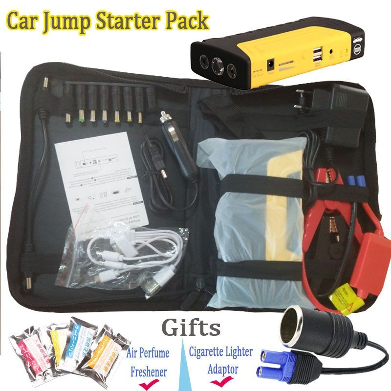 2017 Mini Starting Device Jump Starter Portable Starter Power Bank 12V Car Charger for Car Battery Booster Buster Diesel Auto