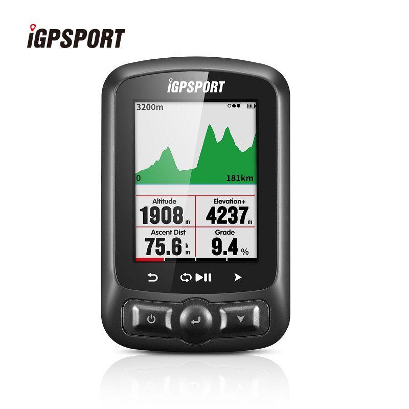 IGPSPORT 2,2 Zoll Farbe Bildschirm Fahrrad Computer Wireless ANT + Wasserdichte IPX7 Bike Computer GPS + Glonass + Beidou Radfahren stoppuhr