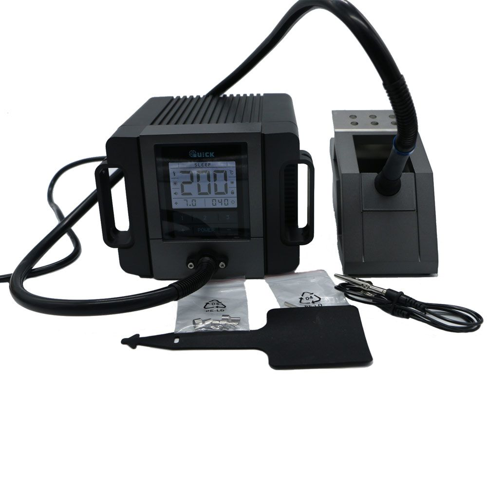 Original 180w 110V/220V QUICK TR1100 rework station portable electric welding machine LCD Display