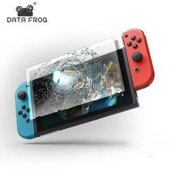 Data Frog protector de pantalla de vidrio templado para Nintendo switch protector de pantalla para Nintendo switch NS