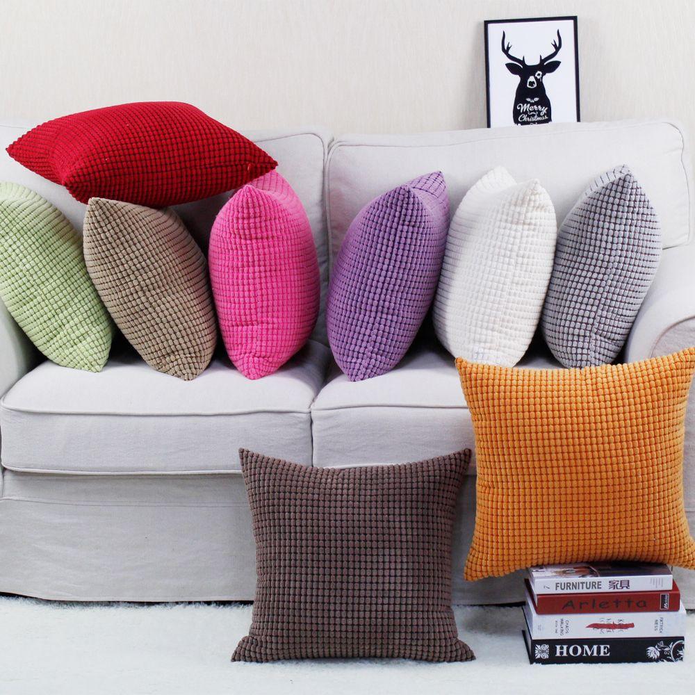 Housse de coussin de canapé 30x45/40x40/45x45/40x60/50x50/55x55/60x60 cm taie d'oreiller décorative home taie d'oreiller