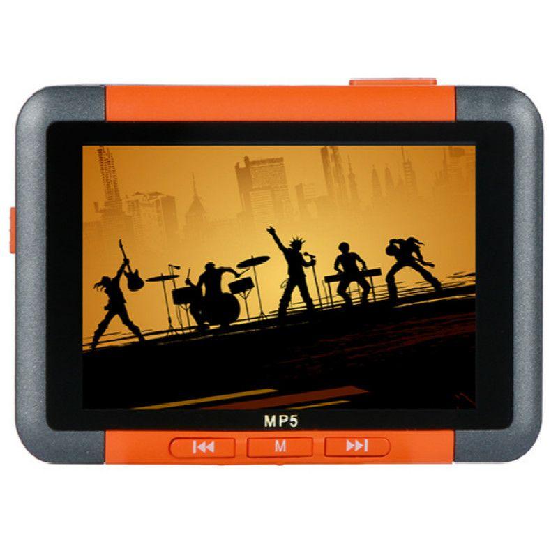 2018 mode Tragbare 4 GB 8 GB 16 GB MP5 musik-player mit lcd-bildschirm FM radio Video film kann eingebaute lautsprecher