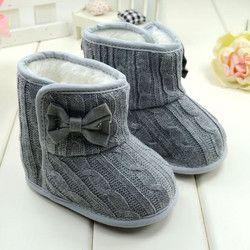 Bebé recién nacido Niño niños Prewalker Solid Fringe zapatos Infant Toddler Soft Soled botas antideslizantes botines 0-1Year