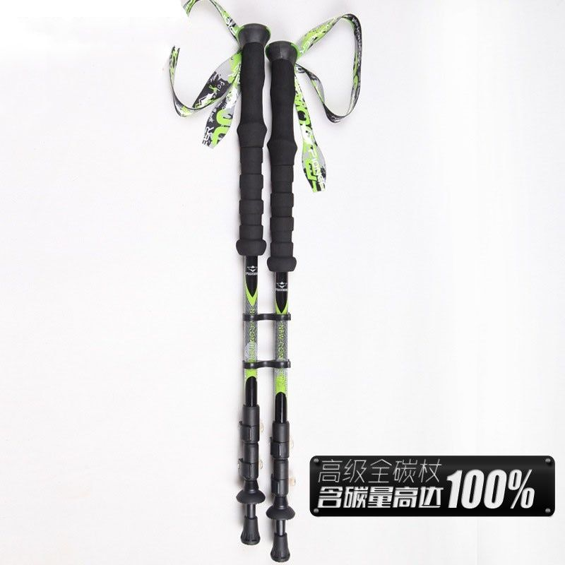 1/pcs100% Carbon Fiber Walking Stick for Trekking Pole Ski Sticks Nordic Walking Poles Bastones Trekking Carbono