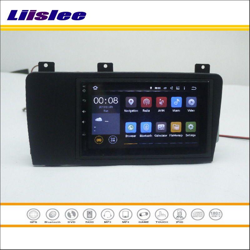 Liislee For VOLVO XC70 / V70 / S60 - Car Radio Stereo Android NAV NAVI Map Navigation Multimedia System W/O Radio CD DVD Player