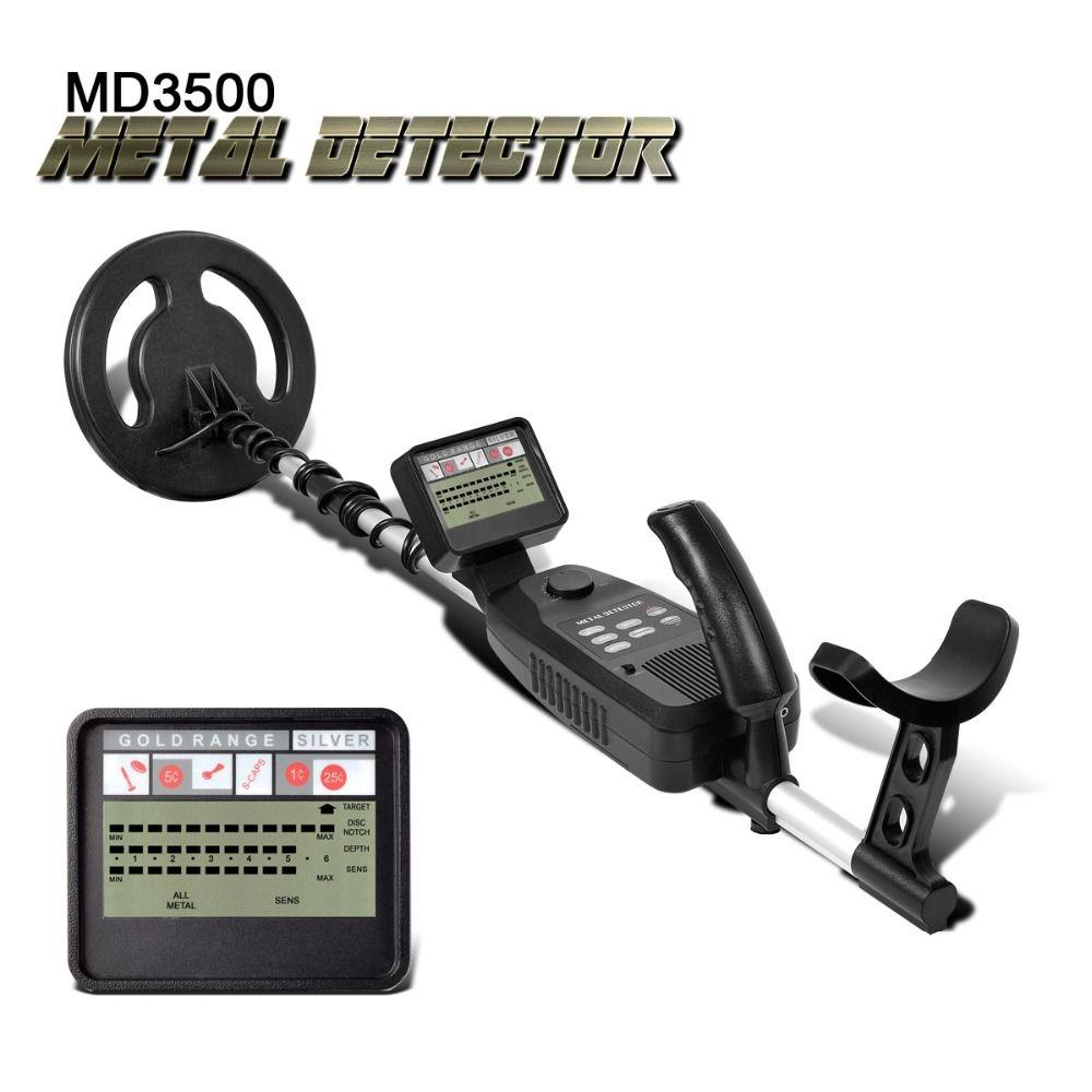 U-metalldetektor MD-3500 MD3500 Schatzsuche Detektor Metall Suche Gold Silber Detektor Stud Finder Metaaldetector