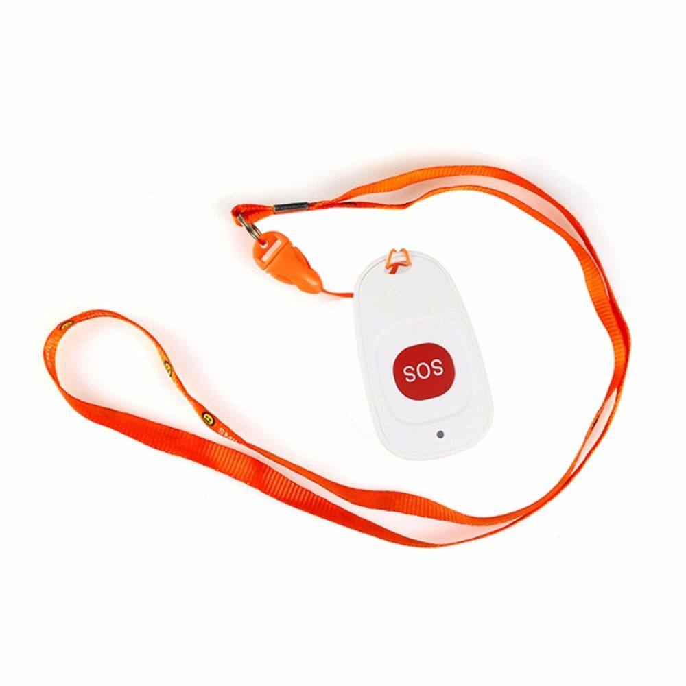 433.92MHz Wireless Call Bell Emergency Pager Calling Button With SOS Transmitter Button for Hospital Patient the Elderly F4466B