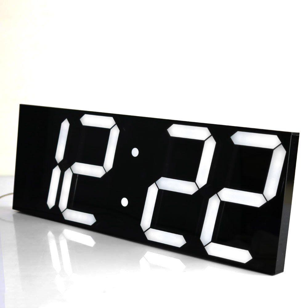 СВЕТОДИОДНЫЙ цифровой настенные часы Wake Up Light большие настенные часы электронный таймер секундомер метеостанции Новый год украшения часы р...