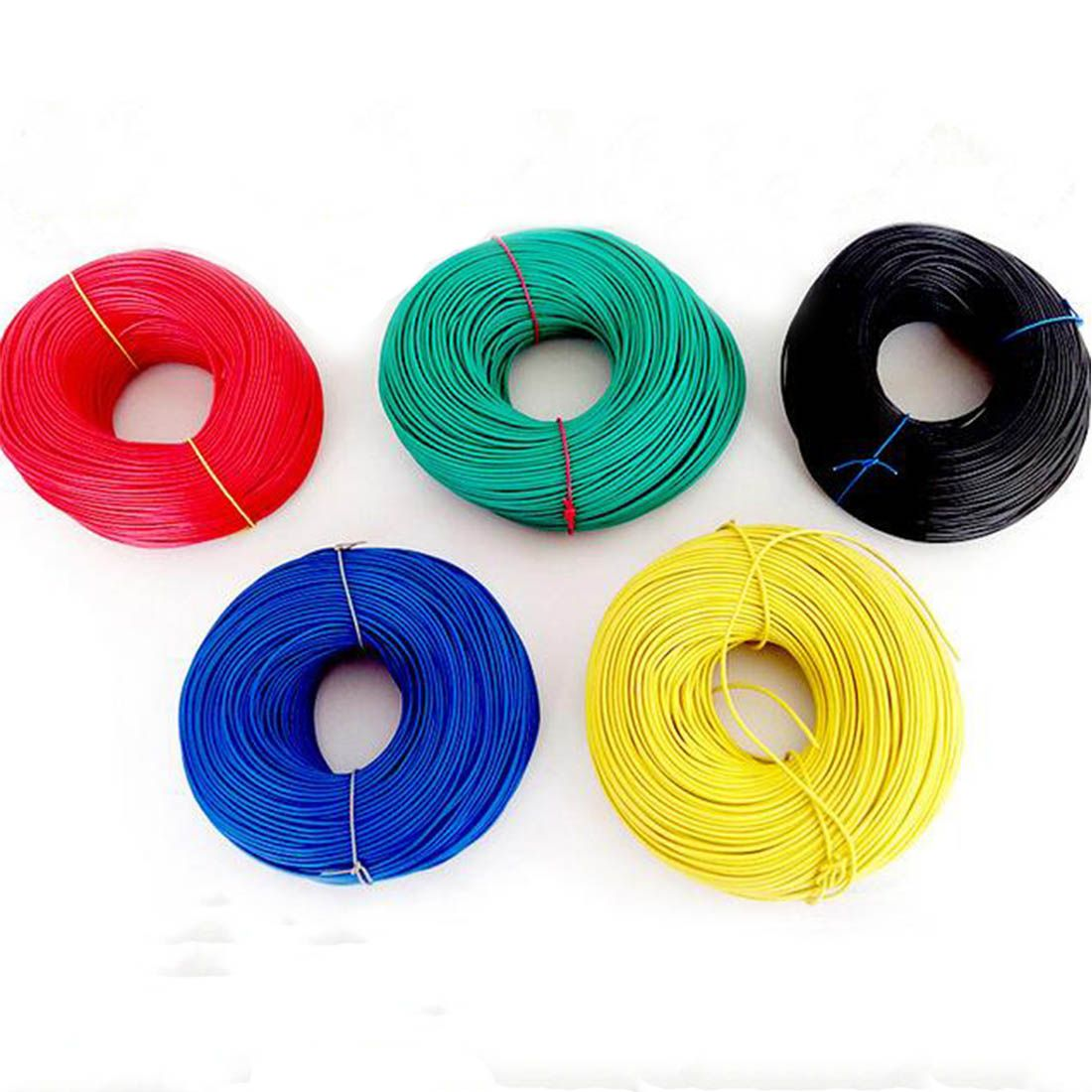 VENSTPOW 10meters/lot 17AWG RV wire 1.0mm Multi-strand Flexible Stranded Cord Electrical Equipment Copper Core PVC Wire DIY