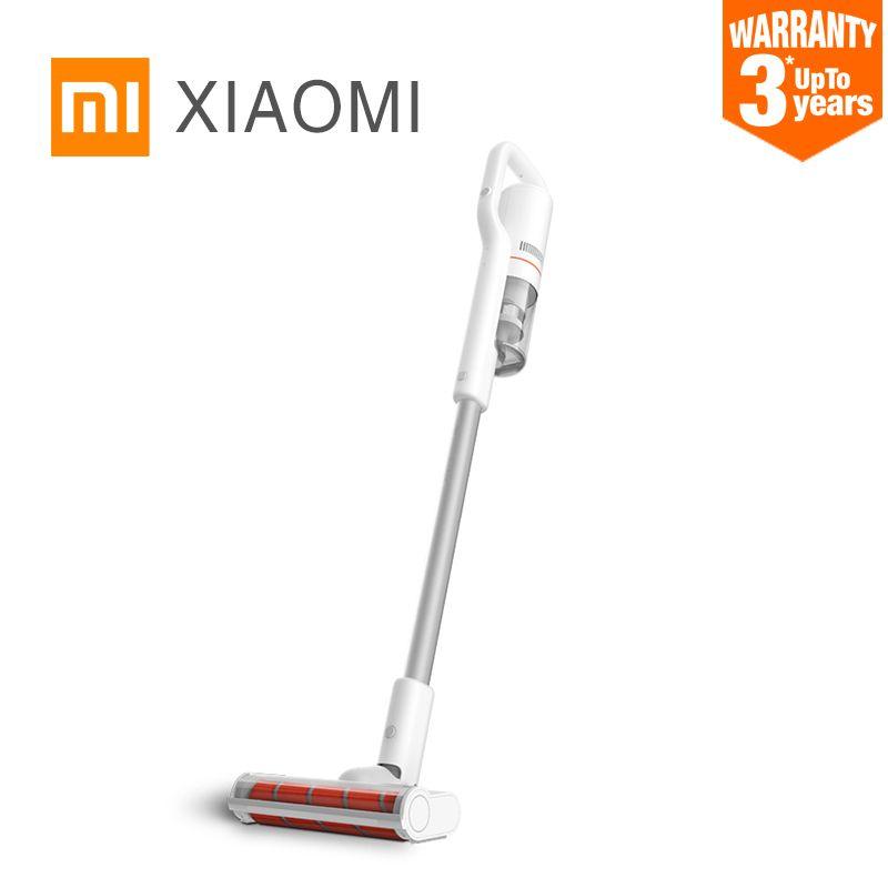 Xiaomi Roidmi F8 Original Staubsauger Geräuscharm Hause Handheld Staub Collector haushalt Bluetooth LED Multifunktionale Pinsel