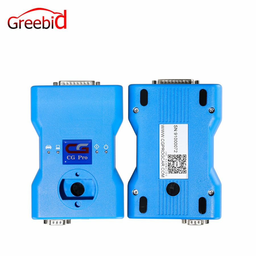 CG Pro 9S12 Freescale Programmer Next Generation of CG-100 Get Free 711 Adapter (Work for Repair EWS Anti-theft Data and EWS Rep